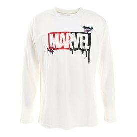 【9/20はエントリーで会員ランク別P10倍】マーベル(MARVEL) マーベルロゴ 長袖Tシャツ DS0203002 バスケットボールウェア (メンズ)
