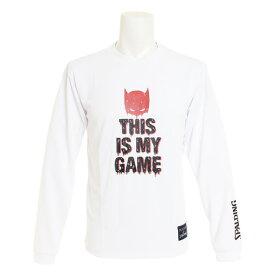 スポルディング(SPALDING) BATMAN DN WH 長袖Tシャツ SMT181310WH (Men's)