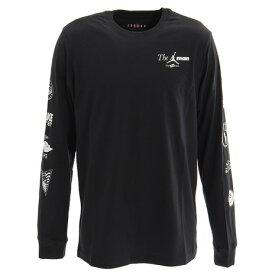 【買いまわりでポイント最大10倍!】ナイキ(NIKE) ジョーダン CTN THE MAN ロングスリーブ Tシャツ BQ5535-010HO19HP (Men's)