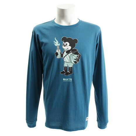 アクター(AKTR) 長袖 Tシャツ 218-013005 BL (Men's)