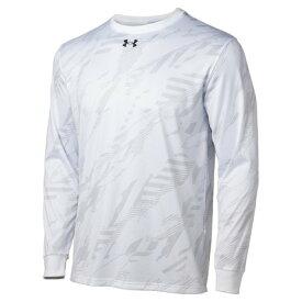 アンダーアーマー(UNDER ARMOUR) Tシャツ メンズ 長袖 テック フルプリント ロングスリーブシャツ 1358883 【バスケットボール ウェア】 (メンズ)