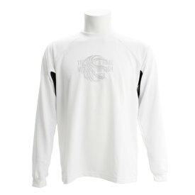 エックスティーエス(XTS) DPWバスケ長袖Tシャツ 751G7ES6301 WHT (Men's)