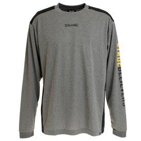 スポルディング(SPALDING) ロングスリーブTシャツ トゥルービリーバースリーブプリント HC SMT191050HC (Men's)