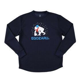 【買いまわりでポイント最大10倍!】エゴザル(EGOZARU) 【ゼビオ限定】 雪だるま 長袖Tシャツ EZLT-1913-004 (Men's)