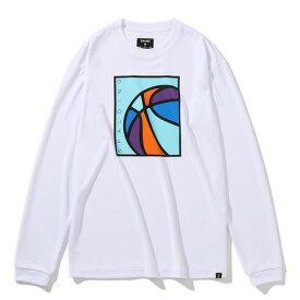 スポルディング(SPALDING) ネオンボール 長袖TシャツSMT201330WH (メンズ、レディース)