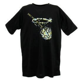 エックスティーエス(XTS) Tシャツ ジュニア 半袖 751G0CD8238 BLK バスケットボール ウェア ドライ 吸汗速乾 (キッズ)