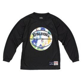 スポルディング(SPALDING) ジュニア Marble Ball 長袖Tシャツ SJT183150 (Jr)