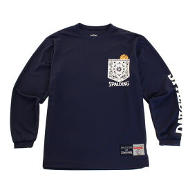スポルディング(SPALDING) ジュニア Paisley 長袖Tシャツ SJT183160 (Jr)