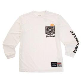 スポルディング(SPALDING) ジュニア Paisley 長袖Tシャツ SJT183160wt (Jr)