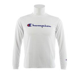 チャンピオン(CHAMPION) ミニプラクティス 長袖Tシャツ CK-NB416 010 (Jr)