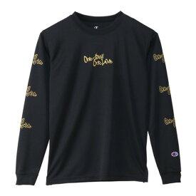 チャンピオン(CHAMPION) Tシャツ ジュニア 長袖 プラクティスシャツ CK-SB417 【バスケットボール ウェア】 (キッズ)