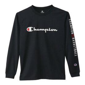 チャンピオン(CHAMPION) Tシャツ ジュニア 長袖 ジュニア プラクティスロングスリーブシャツ CK-SB418 【バスケットボール ウェア】 (キッズ)