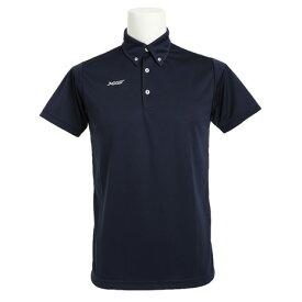 【9/20はエントリーで会員ランク別P10倍】エックスティーエス(XTS) ポロシャツ メンズ 半袖 ドライ 吸汗速乾 ボタンダウン 751G6TF3549 NVY バスケットボール ウェア (メンズ)