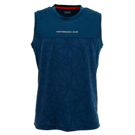 ピージー(PG) Tシャツ メンズ ノースリーブ ドライプラス 吸汗速乾 バスケノースリーブTシャツ 751PG0ES8201 BLU 【 バスケットボール ウェア 】 (メンズ)