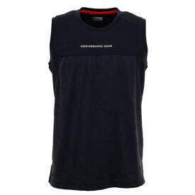 ピージー(PG) Tシャツ メンズ ノースリーブ ドライプラス 吸汗速乾 バスケノースリーブTシャツ 751PG0ES8201 NVY 【 バスケットボール ウェア 】 (メンズ)