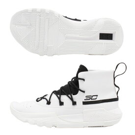 アンダーアーマー(UNDER ARMOUR) SC 3ZER0 2 3020613 WHT/BLK/BLK BK (Men's)