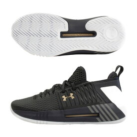 アンダーアーマー(UNDER ARMOUR) ドライブ4 Low #3000086 ANC/ANC/MVG BK (Men's)