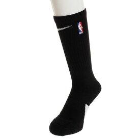 ナイキ(NIKE) エリート NBA クルー ソックス SX7587-010HO18 黒 【バスケットボール ソックス】 (メンズ、キッズ)