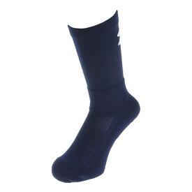 【9/20はエントリーで会員ランク別P10倍】アンダーアーマー(UNDER ARMOUR) バスケットボール ソックス クルーソックス 1295598 メンズ ネイビー×ホワイト 靴下 (メンズ)