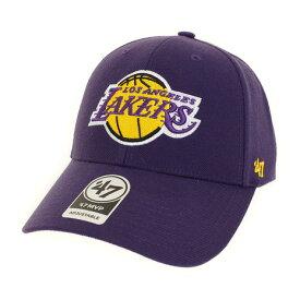 3/30日限定!要エントリーでポイント10倍〜! フォーティーセブン ブランド(47 Brand) オンライン限定特価 Lakers 47 MVP Purple キャップ K-MVP12WBV-PP (Men's)