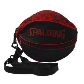スポルディング(SPALDING) ボールバッググラフィティレッド 49-001GR (メンズ、レディース、キッズ)