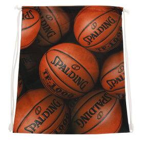 【12月5日24h限定エントリーでP10倍〜】スポルディング(SPALDING) ナップサック BROWN BALL SAK001BRB (メンズ)