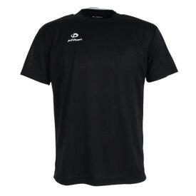 ファイテン(PHITEN) Tシャツ 半袖 RAKUシャツ クルーネック 吸汗速乾 ロゴ 3117JG25210 【バレーボールウェア スポーツウェア】 (メンズ)