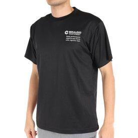 ジローム(GIRAUDM) ドライプラス Reve 半袖Tシャツ 761GM0ES8278 BLK 【バレーボールウェア スポーツウェア】 (メンズ)