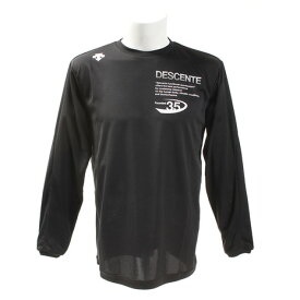 デサント(DESCENTE) Tシャツ 長袖 DOR-B8641X BWH 【バレーボールウェア スポーツウェア】 (メンズ)