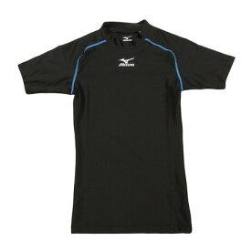 ミズノ(MIZUNO) 【ポイント15倍】【多少の傷汚れありの為大奉仕】陸上 メンズ ウエア 2WAYストレッチシャツ 伸縮Tシャツ インナー U2JA709192 (メンズ)