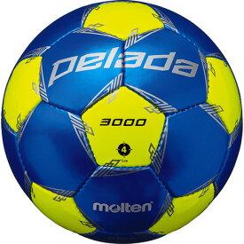 モルテン(molten) サッカーボール 4号球 (小学校用) ジュニア ペレーダ3000 F4L3000-BL (キッズ)