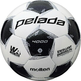 モルテン(molten) サッカーボール 4号球 (小学校用) ジュニア ペレーダ4000 F4L4000 自主練 (キッズ)