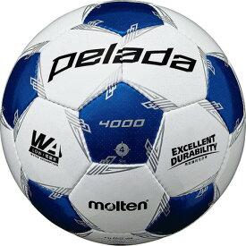 モルテン(molten) サッカーボール 4号球 (小学校用) ジュニア ペレーダ4000 F4L4000-WB 自主練 (キッズ)