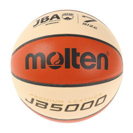 モルテン(molten) バスケットボール 7号球 (一般 大学 高校 中学校) 男子 検定球 JB5000 B7C5000-X 自主練 (メンズ)