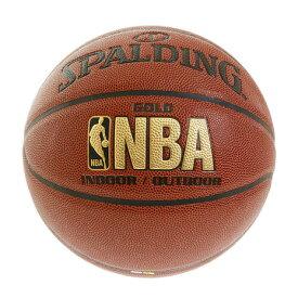 スポルディング(SPALDING) バスケットボール 7号球 (一般 大学 高校 中学校) 男子用 ゴールド コンポジット 7 74-559Z 自主練 (メンズ)