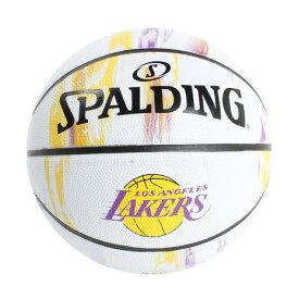 スポルディング(SPALDING) レイカーズ マーブル7 バスケットボール 83-933J (Men's、Lady's、Jr)
