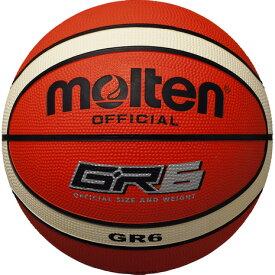 モルテン(molten) バスケットボール 6号球 (一般 大学 高校 中学校) 女子用 GR6 BGR6-OI 自主練 (レディース)