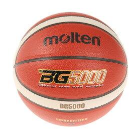 モルテン(molten) バスケットボール 5号球 (小学校用) 検定球 BG5000 B5G5000 (キッズ)