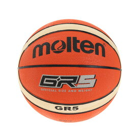 モルテン(molten) バスケットボール 5号球 (小学校用) ジュニア GR5 BGR5-OI (Jr)