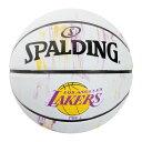 スポルディング(SPALDING) レイカーズ マーブル ラバー 5号球 83-927J 83-927J (Men's、Lady's、Jr)
