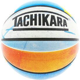 タチカラ(TACHIKARA) バスケットボール 7号球 (一般 大学 高校 中学校) 男子用 GAMES LINE SB7-106 自主練 (メンズ)
