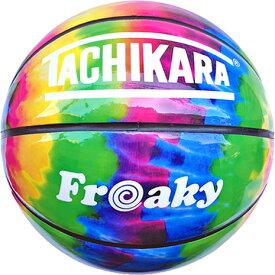 タチカラ(TACHIKARA) バスケットボール 7号球 Freaky RAINBOW SB7-305 (Men's)