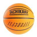 タチカラ(TACHIKARA) バスケットボール 7号球 FLASHBALL ネオンオレンジ SB7-244 (メンズ、レディース)