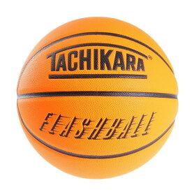 タチカラ(TACHIKARA) バスケットボール 7号球 (一般 大学 高校 中学校) 男子用 FLASHBALL ネオンオレンジ SB7-244 自主練 (メンズ、レディース)