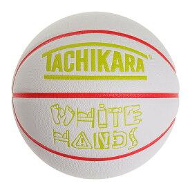 タチカラ(TACHIKARA) バスケットボール 7号球 WHITE HANDS DISTRICT SB7-249 (メンズ)