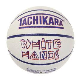 タチカラ(TACHIKARA) バスケットボール 7号球 WHITE HANDS DISTRICT SB7-255 (メンズ)