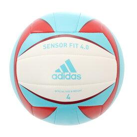 【7/25はエントリーで会員ランク別P10倍】アディダス(adidas) バレーボール 4号球 センサーフィット4.0 AV416SK (メンズ、レディース)