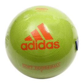 3/30日限定!要エントリーでポイント10倍〜! アディダス(adidas) ソフトドッジボール 2号球 イエロー AD210Y (Jr)