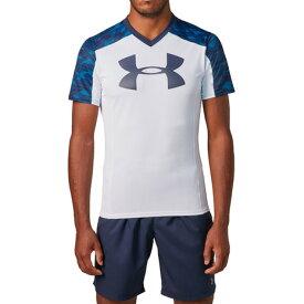 アンダーアーマー(UNDER ARMOUR) ラグビープラクティスTシャツ 1312828 WHT/MDN/MDN RG (Men's)