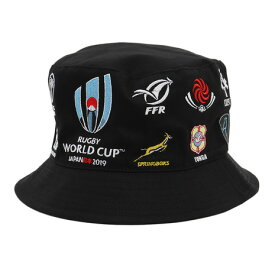 ノーブランド(NO BRAND) RWC2019 20 UNIONS COLLECTION ハット BLK R33178 (Men's、Lady's)